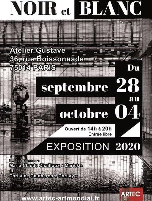 Exposition d'Elisabeth Laplante – Atelier Gustave – du 28 septembre au 4 octobre 2020